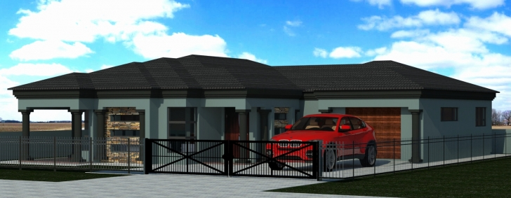 Classy Tuscan House Plans New 4 Bedroom Home Design Remarkable - Home House Plan At Polokwane Image