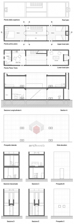 Cool 102 Best Plans, Sections, Elevations Images On Pinterest Residential Building Plan Section Elevation Dwg Pic