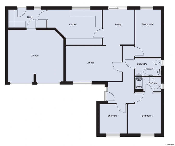 Cool Building Plan For Three Bedroom House In Contemporary Perfect 3 Bed 3 Bedroom Building Plan Photo