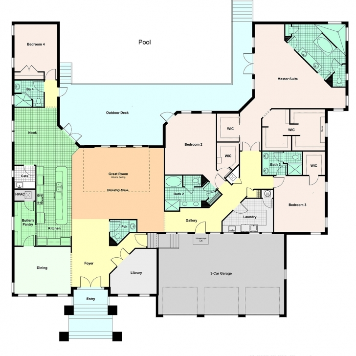 Cool Custom Home Floor Plans Vs. Standardized Homes Custom Designed Home Plans Pic