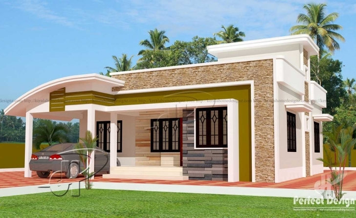 Cool Home Design 1000 Sq Feet Salary Designs 2018 Including Attractive 1000 Sq Ft Single Floor House Plans In Kerala Image