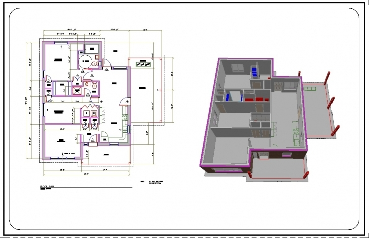 Cool House Plans Cad Drawings Awesome Design Ideas 17 Autocad 2D - Tiny House Autocad 2d House Plan Drawings Hd Picture