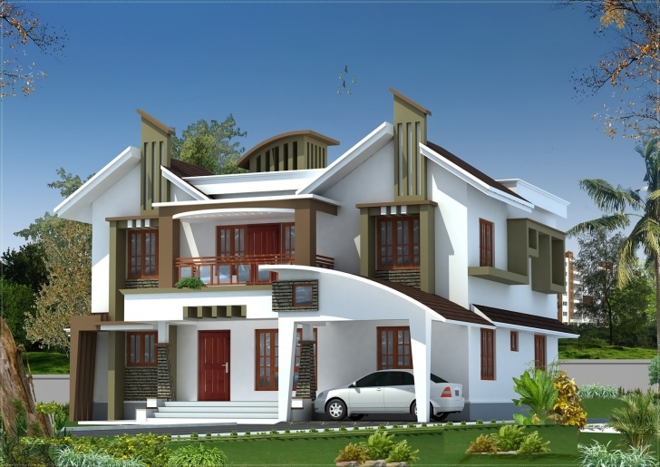 Cool Kerala New Model Home Pictures - Homes Floor Plans Kerala New Model House Images Photo