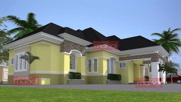 Cool Modern Bungalow House Design In Nigeria - Youtube Image Of Bungalow House In Nigeria Image
