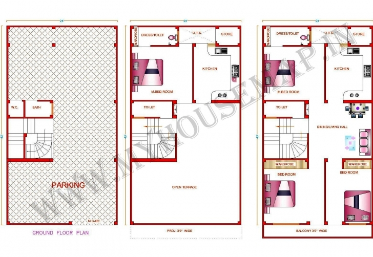 Cool Nice House Map 15 X 40 #8: Home Design 30 X 50 - Home Design 30 X 50 15 By 30 House Map Pic