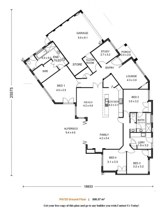 Cool Single Family House Plans Plan Section And Elevation Of Houses Pdf Simple Plan Elevation Section Of Residential Building Image
