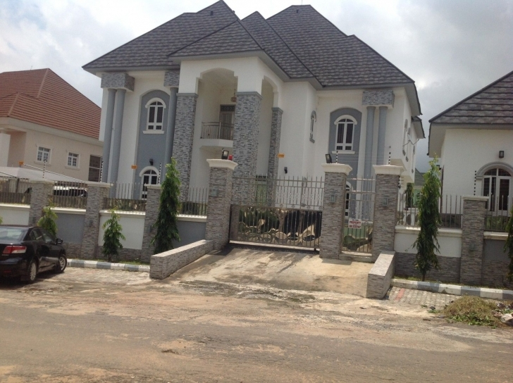 Cool This Is A Magnificent And Exquisitely Finished, Spacious 6 Bedroom Mini Duplex On Half Plot Photo
