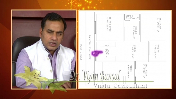 Cool West Facing Plot / House / Home, Vastu Shastra , Feng-Shui - Youtube Vastu House Plans West Facing In Hindi Picture