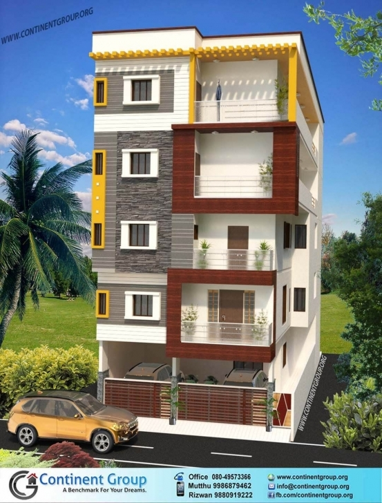 Exquisite 3D Building Elevation Bangalore | Building Elevation | Pinterest Architectural Elevations Of Buildings Photo