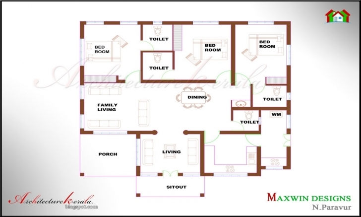 Exquisite 4 Bedroom Kerala House Plans (Photos And Video) | Wylielauderhouse Kerala 4 Bedroom House Plans Pic