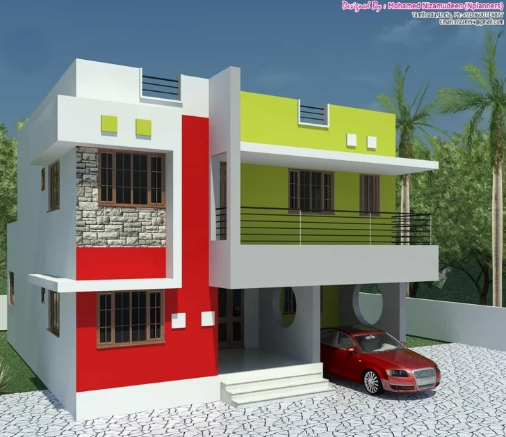 Exquisite Affordable Basic 3Bhk Home Design At 1300 Sq.ft. 1300 Sq Ft House Plans Indian Image