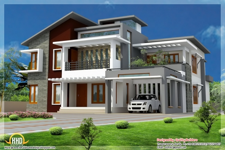 Exquisite Design : Architect Architecture Design House Plans Modern Small Contemporary House Plans In Kerala Image
