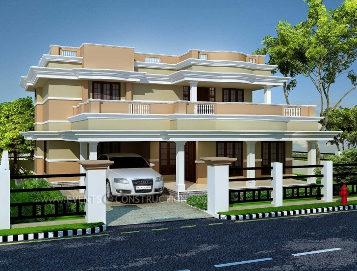 Exquisite Incredible New Boundary Wall Design In Kerala Collection And House Kerela Dijain Baondari Photos In Picture