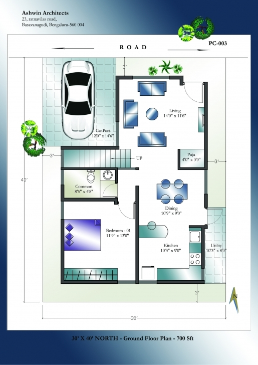 Exquisite Looking For Superior 30 X 40 North Facing House Plans In India? Get 30 40 House Plans First Floor North Facing Picture