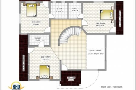 3 Bedroom House Plans North Indian Style