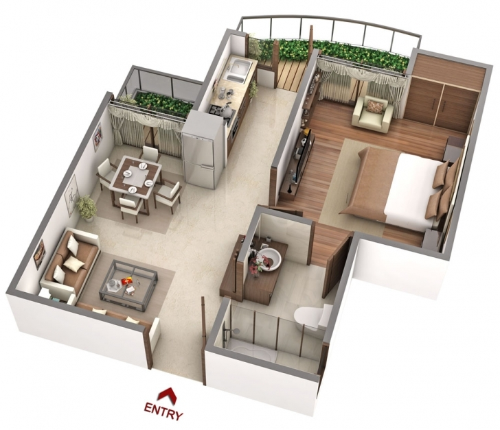 Exquisite The Cadence Bhiwadi   The Cadence Floor Plan   Bhiwadi Builder 1100 Sq Ft House Plans 3d Photo