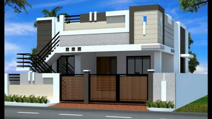Fantastic 3D House Elevations - Youtube Single Floor Elevation Colours Photo
