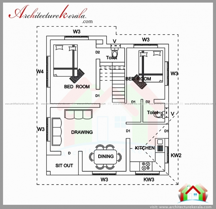 Fantastic 900 Sq Ft House Plans 2 Bedroom Indian Style | Ayathebook 900 Sq Ft House Plans 3 Bedroom Indian Style Pic
