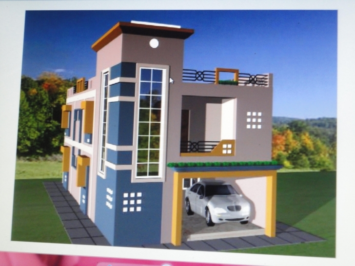 Fantastic Awesome 3D Home Design Front Elevation Images - Decoration Design House Elevation Design App Photo