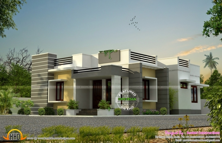 Fantastic Front Elevation Of Single Floor House Kerala Home Design And Trends 20 Feet Front House Elevation Single Floor Picture