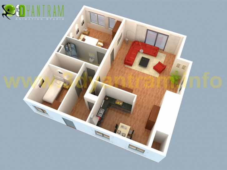 Fantastic Home Design: D Floor Plan Design Interactive D Floor Plan Yantram House 3d Design Mac Pic