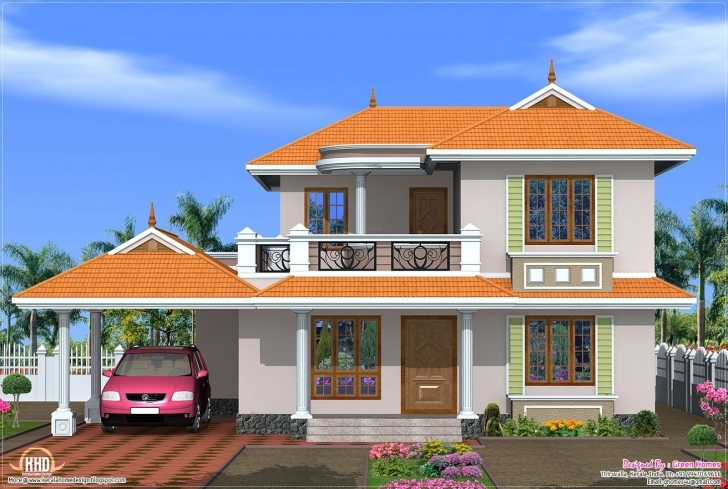 Fantastic New Model House Design Latest Home Decorating - Building Plans New Model House Images Image