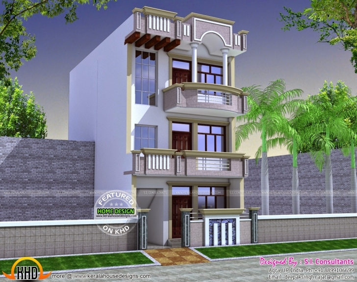 Fantastic South Indian House Plans + Elevations   The Base Wallpaper 15*30 Home Front Design Image