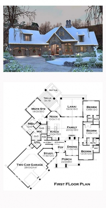 Fascinating 35 Best Luxurious Floor Plans Images On Pinterest | House Floor Beautifully Designed Home Plans Pic