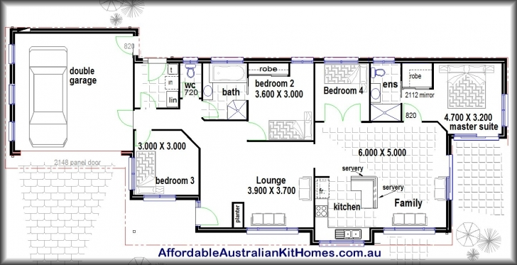 Fascinating 4 Bedroom House Plans And This 167 Platypuspllh - Diykidshouses Simple Four Bedroom Bungalow House Plans Picture