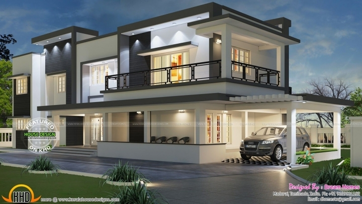 Fascinating Free Floor Plan Of Modern House Kerala Home Design And | House Free Complete Modern House Plans Image