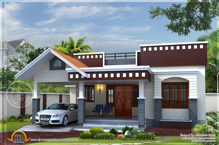 Fascinating Front Elevation Of Single Floor House Kerala Pictures With Charming Single Floor House Design Front Photo
