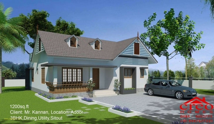 Fascinating New 5 Lakh Home Design | Home Design Below 5 Lakhs House Plans In Kerala Image