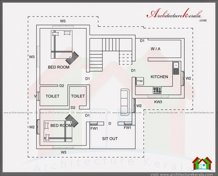 Fascinating Regaling B Design Square Feet Bedroom House Plans Standard Planbhk 1200 Sq Ft House Plans Indian Style 3d Photo