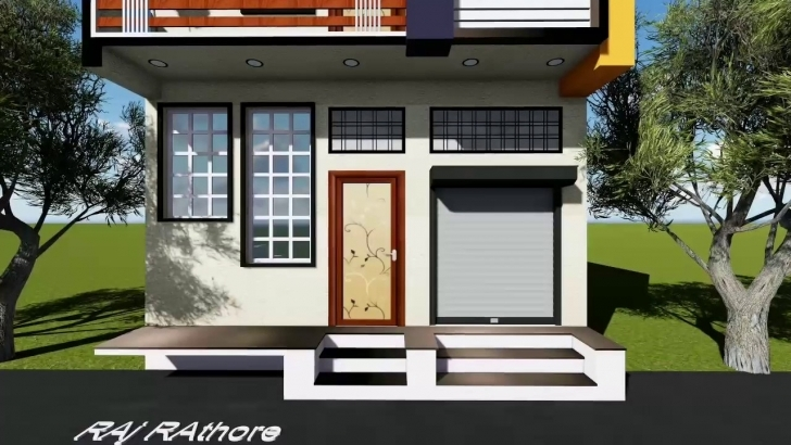 Good 20 Feet Front Elevation - Youtube 15 Feet Wide House Front Elevation Photo