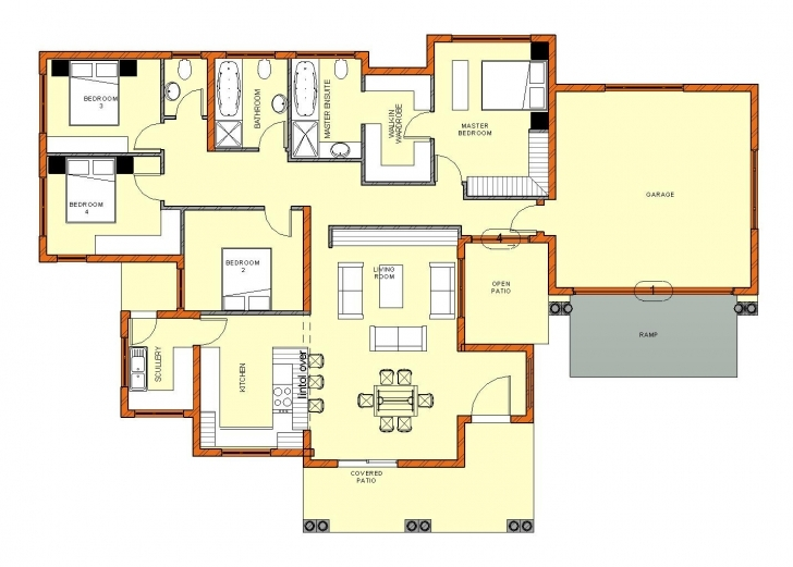 Good 3 Bedroom House Plans With Double Garage Pdf Savae Org Lovely South South African House Plans 3 Bedroom Pic