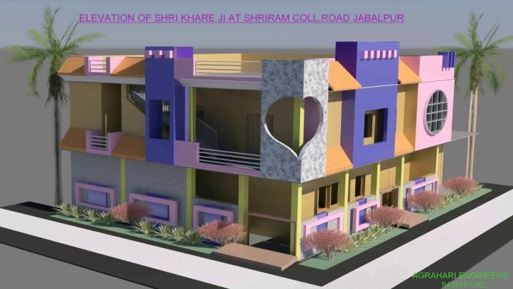 Good 30X50 House Plans With Elevation - Youtube Front Elevation Of Indian House 30x50 Site Pic