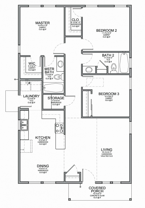 Good 50 Lovely Gallery Simple House Plans In Nigeria - Home Inspiration 3 Bedroom House Plans With Photos In Nigeria Picture