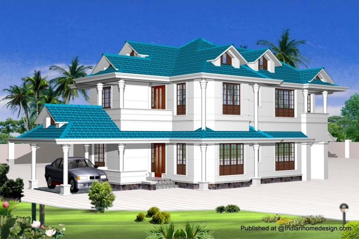 Good Indian Home Design Photos Exterior — House Style And Plans Indian Houses Photos Pic