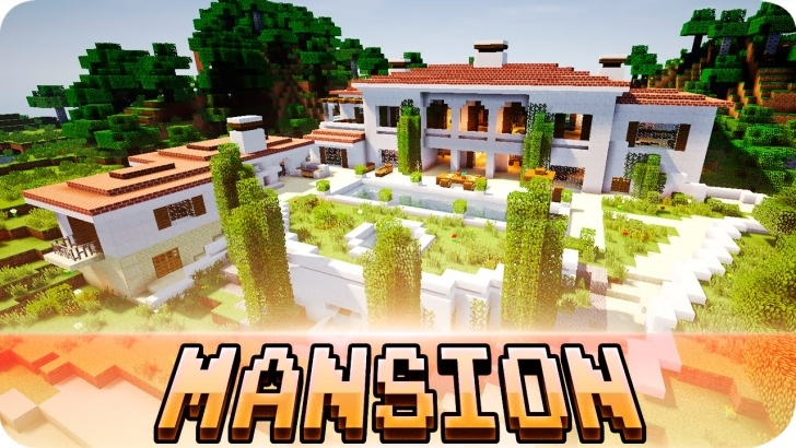 Good Minecraft - Beautiful Italian Mansion - House Map W/ Download - Youtube Map Modern House Minecraft 1.7.10 Picture