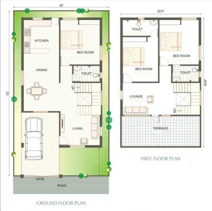 Good Sq Ft House Plans In Kerala Indianyle With Car Parking North Facing Indian House Plans For 750 Sq Ft Pic