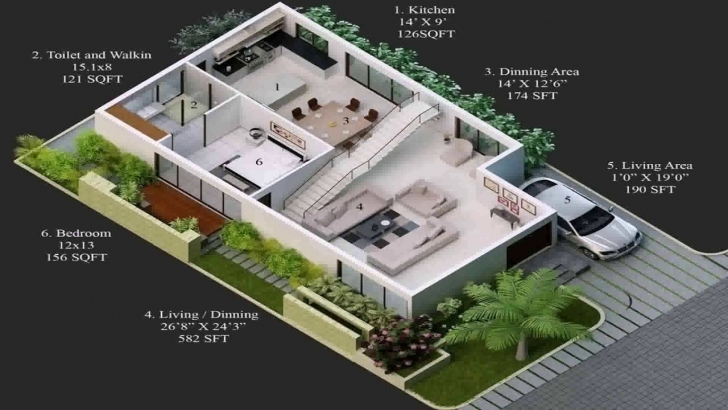 Gorgeous 20 X 60 House Plans India - Youtube 20 60 House Plan 3d Photo