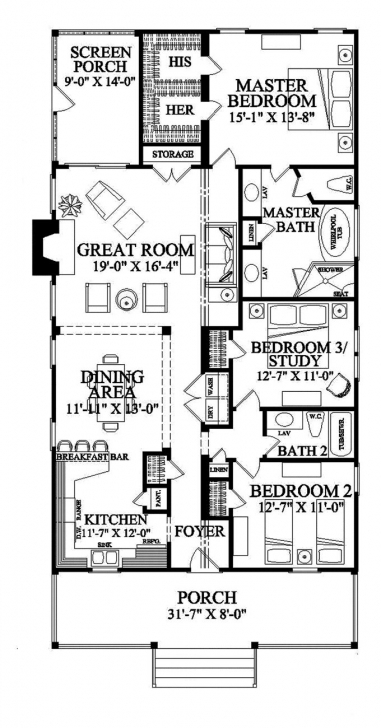 Gorgeous 26 Best Small/narrow Plot House Plans Images On Pinterest   Small Building Plan On Half Plot Of Land Picture