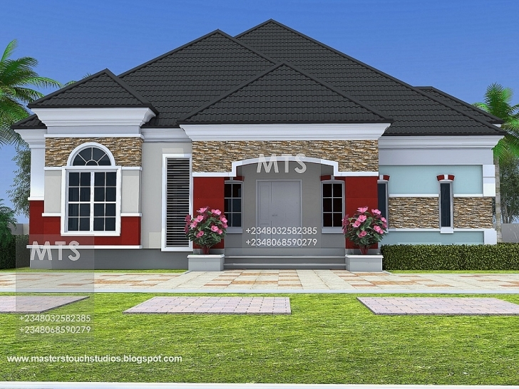 Gorgeous Mr Chukwudi 5 Bedroom Bungalow Picture Of Bungalow House In Nigeria Photo