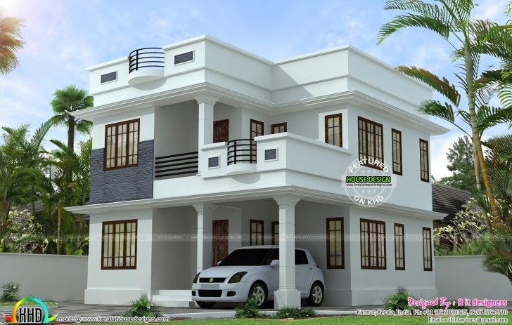 Gorgeous Neat Simple Small House Plan Kerala Home Design Floor Plans Simple House Kerala Picture