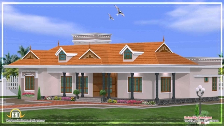Great House Plans Kerala Style Single Floor - Youtube Kerala Style Single Floor House Images Picture