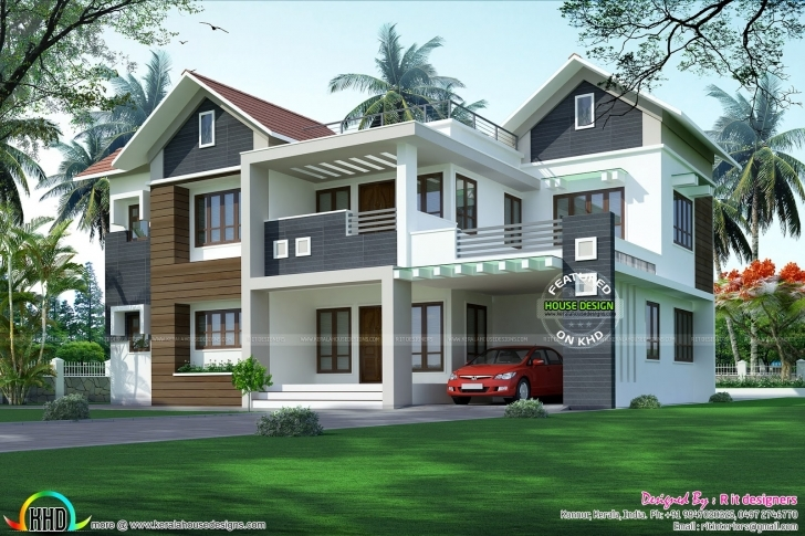 Great January 2017 - Kerala Home Design And Floor Plans Kerala Modern House Design 2017 Picture