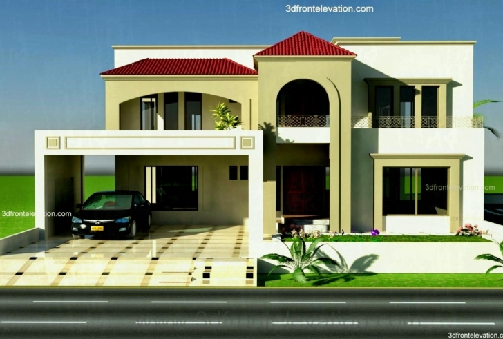 Great New Beautiful House Design D Front Elevation Pakistan Home Designs Beautiful House Designs In Pakistan Image