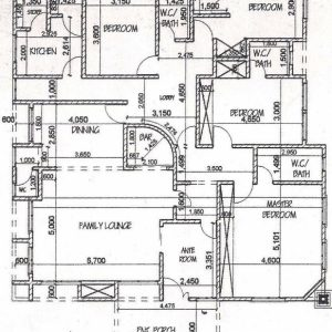 Five Bedroom Bungalow Floor Plan