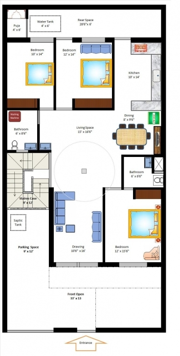 Image of Apartments : X West Facing Home Plan Small Plans House According To Vastu House Plans West Facing In Hindi Photo