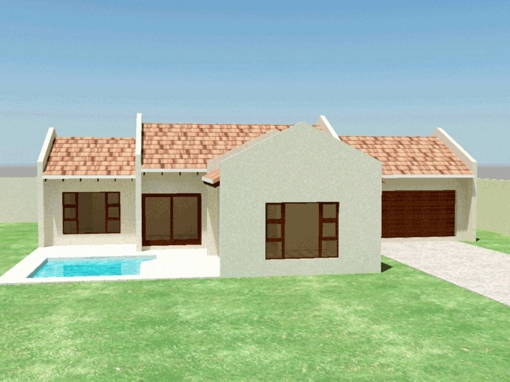 Image of Awesome Collection Three Bedroom House Plan South Africa - Home South African House Plans 3 Bedroom Photo
